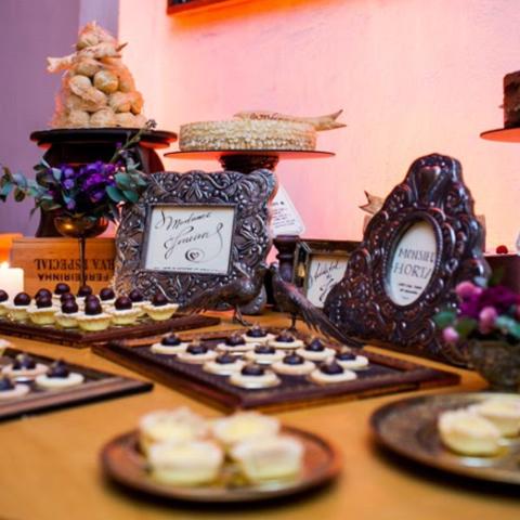 """Detalhes do meu casamento – Parte 3 """"A mesa de doces"""""""