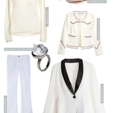 Desejando: look branco total!