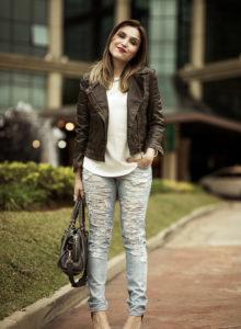 Look da Lu: jeans e jaqueta
