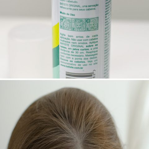 Testei e amei: Batiste Shampoo Seco