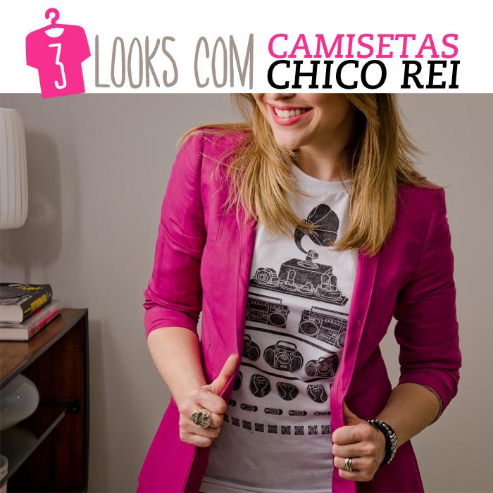 3 looks com camisetas! - Lu Ferreira