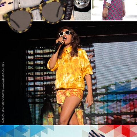 Sunglasses & stripes