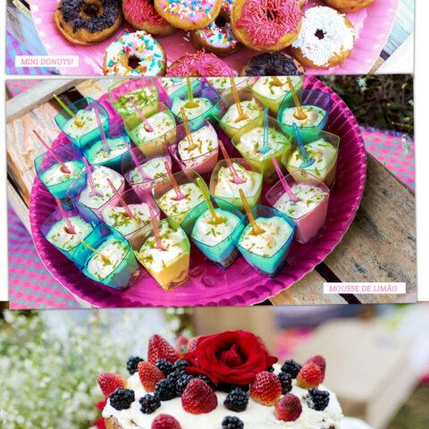 Ideia boa: picnic de aniversário!