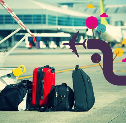 8 dicas pra enfrentar aeroportos!