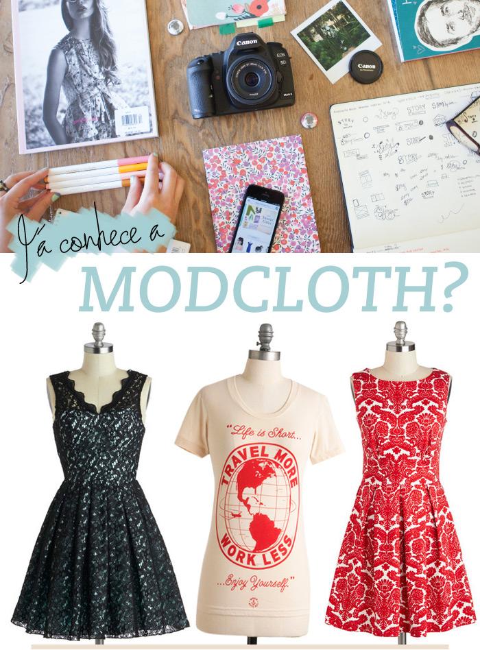 Já conhece a Modcloth? - Lu Ferreira