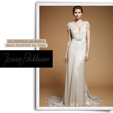 Jenny Packham bridal, pra querer casar de novo!
