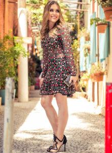 Look da Lu: floral no #casamentoliaedani