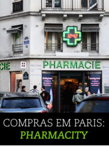 Compras em Paris: Citypharma, a melhor farmácia!