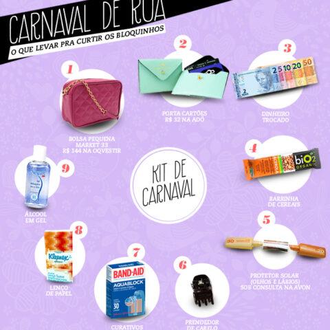 Carnaval de rua: o que levar para curtir os bloquinhos!