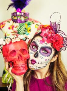 Tutorial: caveira mexicana para o carnaval!