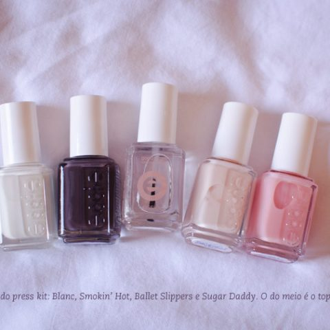 Eu testei: Topcoat Good to Go – Essie