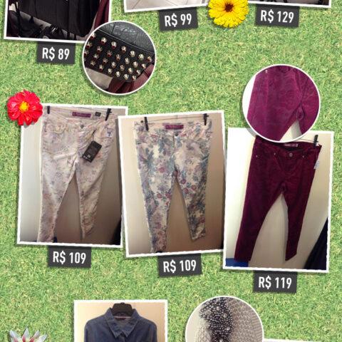 Fast Fashion: florais de outono