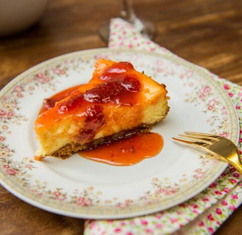 Receita de cheesecake clássico – O Chef e a Chata