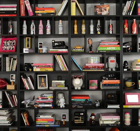 Decor: Tour pela minha estante!