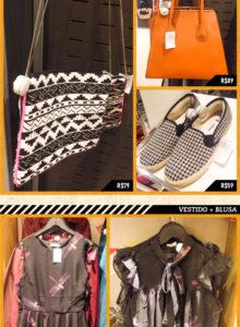 Fast fashion: bolsas, verde e sapatos