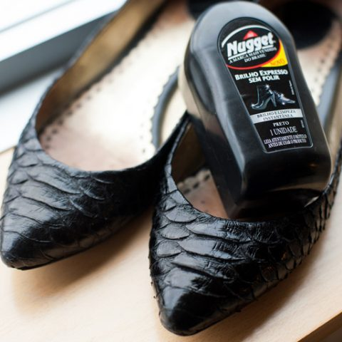 Renovando meus sapatos favoritos!