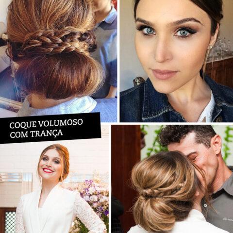 5 penteados para te inspirar antes da próxima festa!