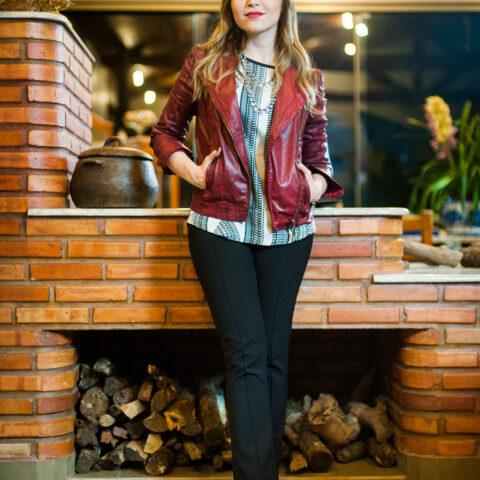 Look da Lu: jaqueta colorida