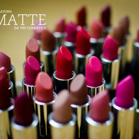 Swatches: Os batons matte da Yes!