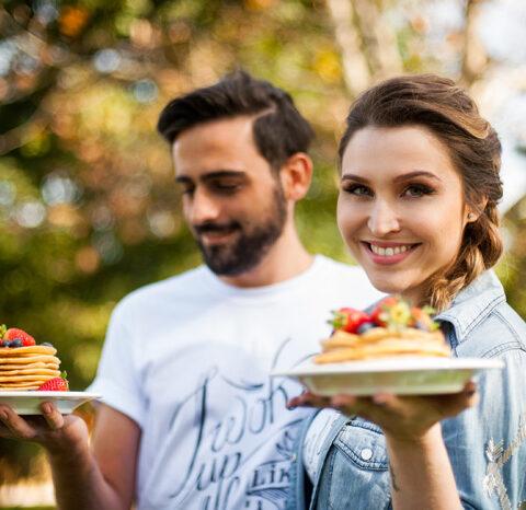 Receita de panquecas doces sem glúten e sem lactose – O Chef e a Chata