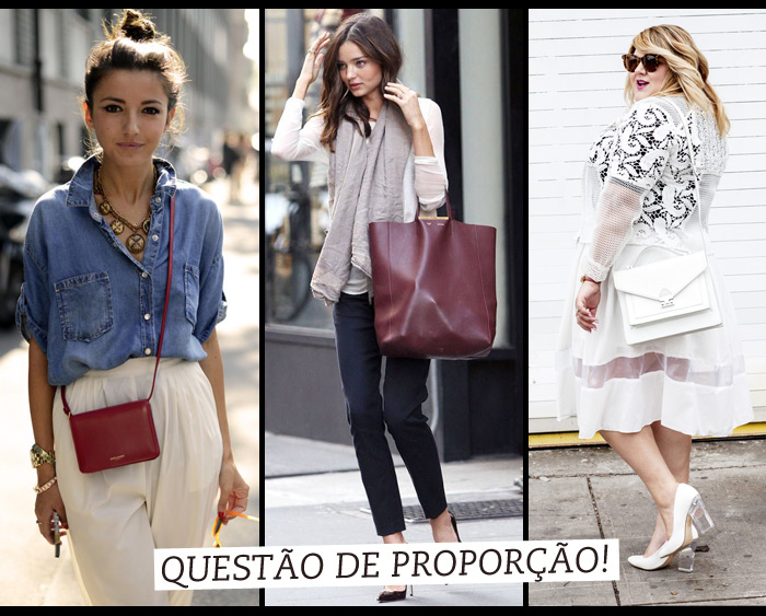 572774ba7 Como escolher a bolsa ideal para seu tipo de corpo - Lu Ferreira ...