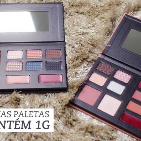As novas paletas da Contém 1G: Essencial Basic e Paris Chic
