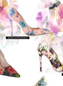 Tendencinha: como usar scarpin floral!