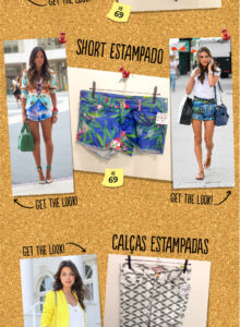 Fast fashion: mar de estampas!
