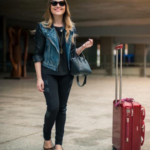 Look da Lu: no aeroporto
