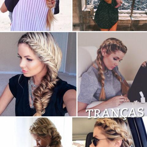 Os penteados maravilhosos da blogger Amber Fillerup!