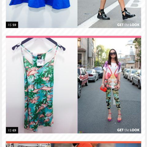 Fast fashion: estampas, cores e miçangas