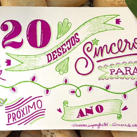 20 desejos sinceros para o próximo ano