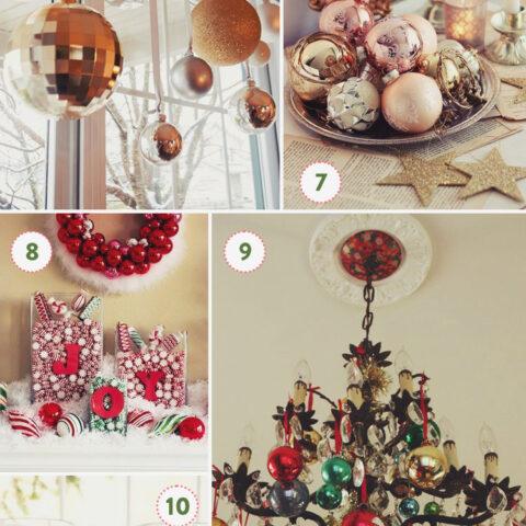 10 ideias fáceis e baratas pra decorar sua casa pro Natal