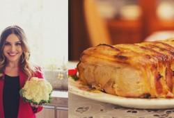 Receita de lombo com bacon e crumble de legumes – O Chef e a Chata