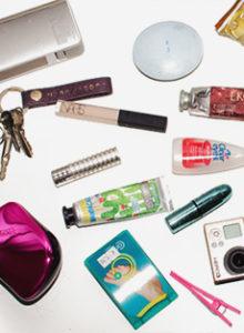 O que tem na minha bolsa – edição viagem de carro