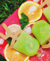Picolé de suco verde – O Chef e a Chata