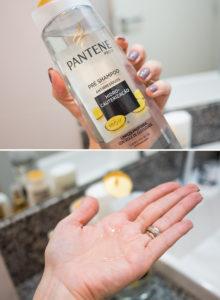 O pré shampoo e os lançamentos Pantene