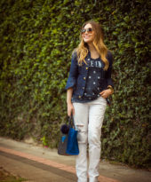 Look da Lu: jeans e camiseta