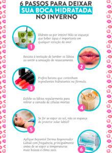 4 passos pra manter a boca hidratada no inverno