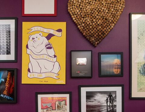 DIY: Como fazer uma parede galeria!