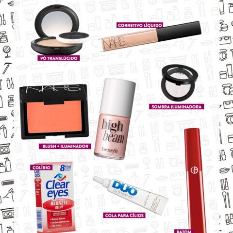Produtos favoritos para retocar a maquiagem
