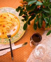 Receita de fettuccine alla carbonara – O Chef e a Chata