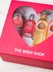 Kit fofo de dia dos namorados da The Body Shop