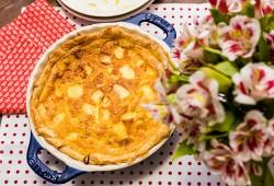Receitinha: torta fácil de queijo Edam
