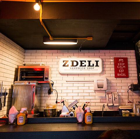 Hambúrguer delícia em SP: Z Deli Sandwich Shop