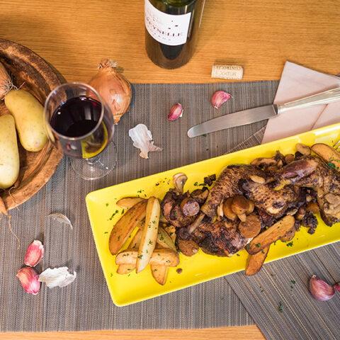 Coq au vin (frango ao molho de vinho) – O Chef e a Chata em Paris