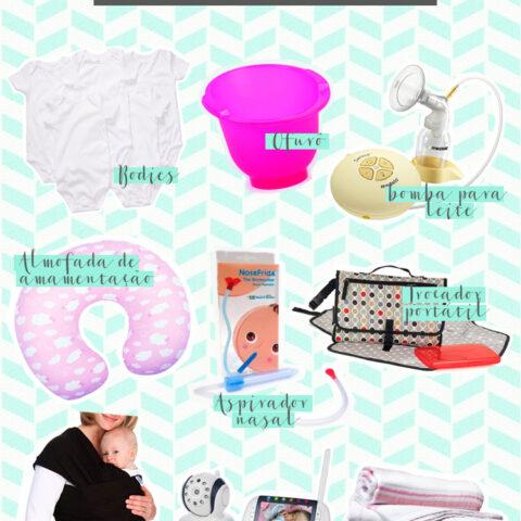 9 ítens indispensáveis no enxoval do bebê