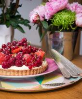 Torta de pistache, chantilly e frutas vermelhas – O Chef e a Chata em Paris