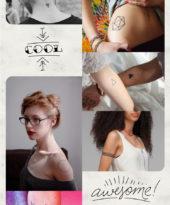 24 tattoos geométricas pra te inspirar a fazer a sua!