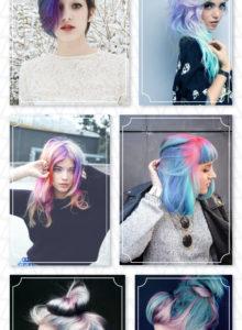 26 inspirações de cabelo colorido